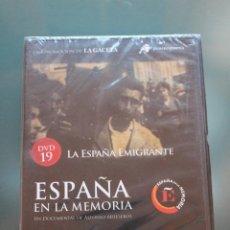 Cine: ESPAÑA EN LA MEMORIA. LA ESPAÑA EMIGRANTE- PRECINTADO. Lote 145141258