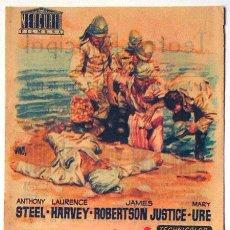 Cine: FOLLETO MANO CINE TEMPESTAD SOBRE EL NILO TEATRO PRINCIPAL ALICANTE 1957 TAMAÑO GRANDE 11X15 CM. Lote 145171926