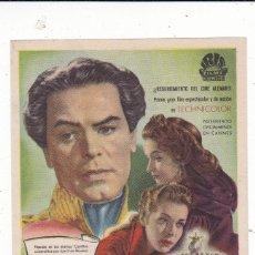 Cine: EL REY LOCO CON O.W. FISCHER, RUTH LEUWERIK, MARIANNE KOCH,AÑO 1956 EN CINEMAS PRINCIPAL Y LA RAMBLA. Lote 145575330
