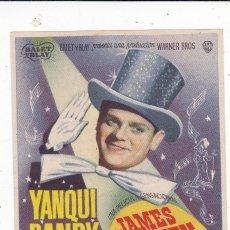 Cine: YANQUI DANDY CON JAMES CAGNEY, JOAN LESLIE AÑO 1948 EN CINEMAS LA RAMBLA Y PRINCIPAL. Lote 145578810