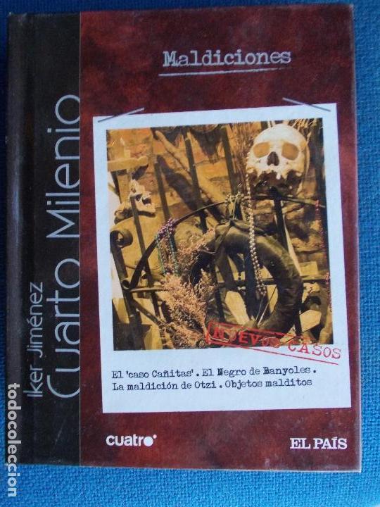 IKER JIMENEZ CUARTO MILENIO LIBRO DVD CUATRO EL PAIS Nº 8 MALDICIONES