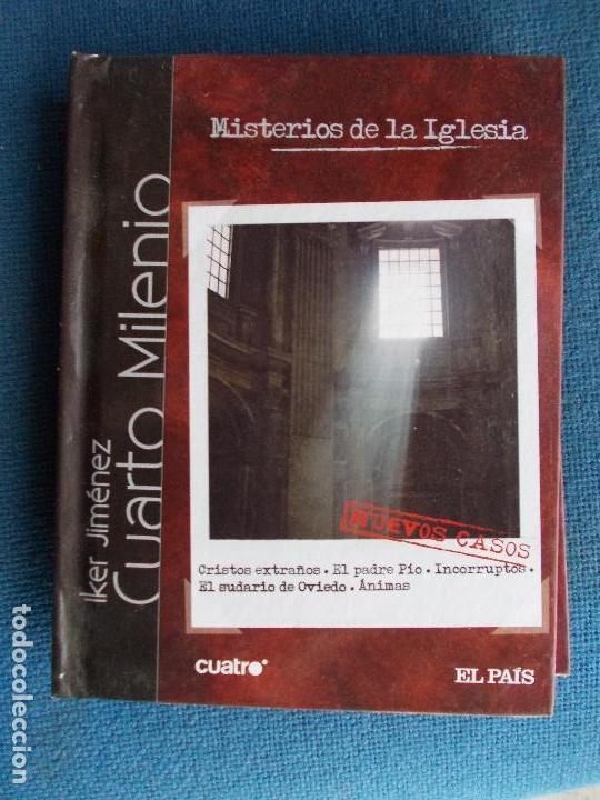 IKER JIMENEZ CUARTO MILENIO LIBRO DVD CUATRO EL PAIS Nº 6 MISTERIOS DE LA  IGLESIA