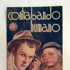 Cine: PROGRAMA DE CINE DOBLE, CONTRABANDO HUMANO.. Lote 146284093