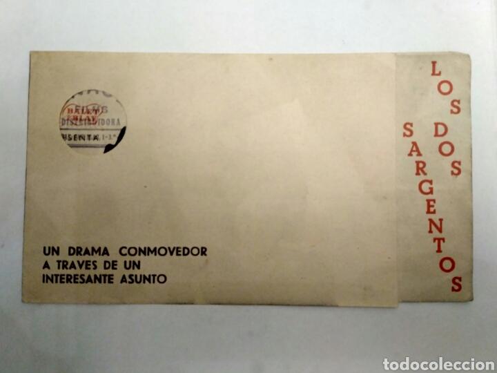 Cine: Programa de cine doble, Los dos sargentos. - Foto 3 - 146304414