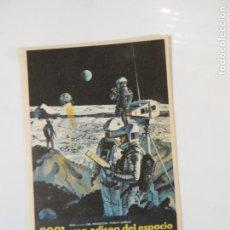 Cine: 2001 UNA ODISEA DEL ESPACIO - FOLLETO DE MANO ORIGINAL - STANLEY KUBRICK. Lote 146552442