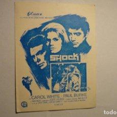 Cine: PROGRAMA LOCAL SHOCK - CAROL WHITE - PUBLICIDAD. Lote 146569214