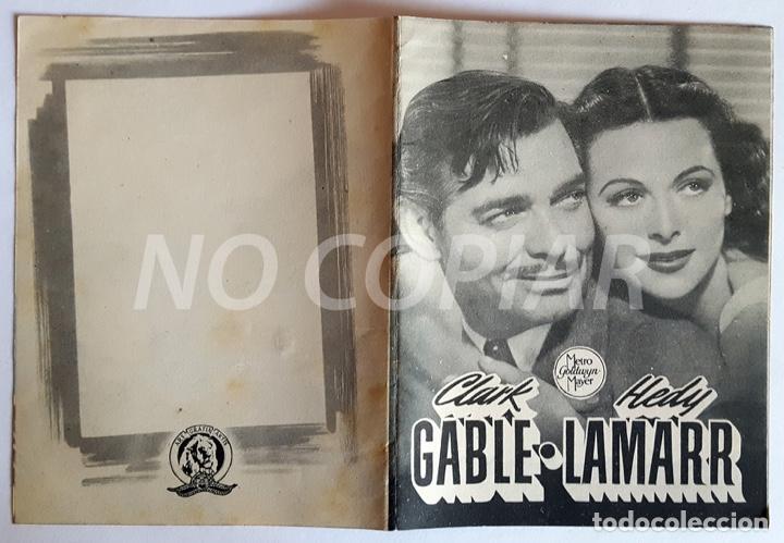 Cine: PACK 2 PROGRAMAS (SIMPLE Y DÍPTICO) DE LA PELÍCULA CAMARADA X. SIN USO!!! - Foto 2 - 146626958