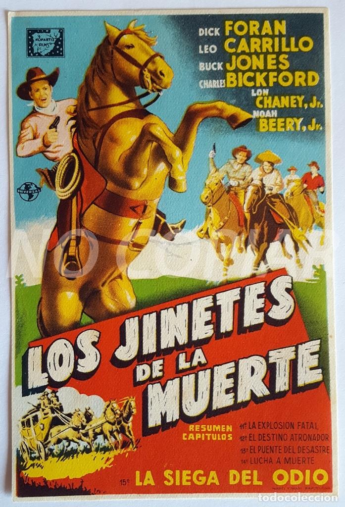 Cine: PACK 3 PROGRAMAS DIFERENTES DE LA SERIE LOS JINETES DE LA MUERTE. SIN USO!!! - Foto 3 - 146643510