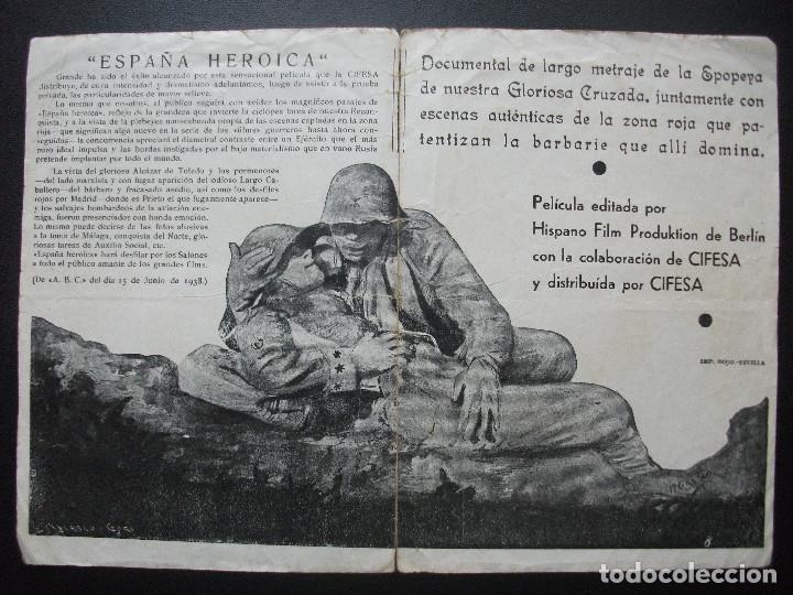 Cine: ESPAÑA HEROICA - Foto 2 - 146716662