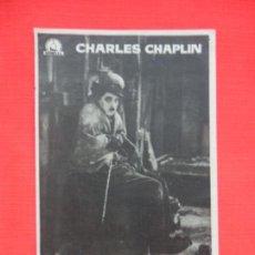 Cine: LA QUIMERA DEL ORO, IMPECABLE SENCILLO, CHARLES CHAPLIN, CON PUBLI MONTERROSA. Lote 146766530