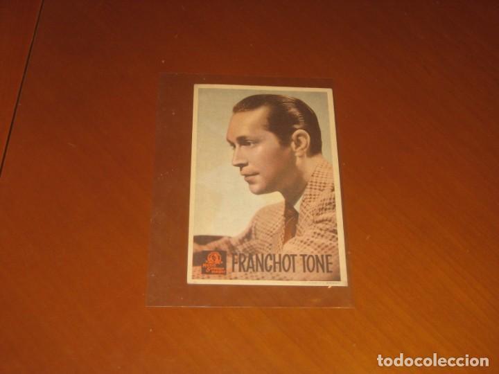 FRANCHOT TONE (Cine - Folletos de Mano - Comedia)