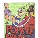 Cine: PTCC 033 POPEYE BRAZO DE HIERRO PROGRAMA SENCILLO VINCIT FILMS ANIMACION. Lote 146918518