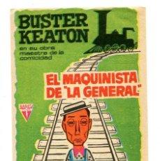 Cine: EL MAQUINISTA DE LA GENERAL, CON BUSTER KEATON. C/I.. Lote 146951706