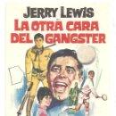 Cine: PTCC 034 LA OTRA CARA DEL GANGSTER PROGRAMA SENCILLO COLUMBIA JERRY LEWIS SUBMARINISMO TENNIS. Lote 147010942