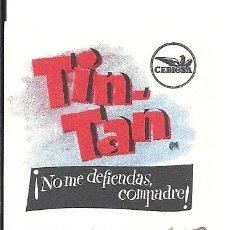 Cine: PTCC 034 NO ME DEFIENDAS COMPADRE PROGRAMA TROQUELADO CEPICSA TIN TAN. Lote 147012958