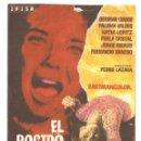 Cine: PTCC 035 EL ROSTRO DEL ASESINO PROGRAMA SENCILLO IFISA CINE ESPAÑOL GERMAN COBOS PEDRO LAZAGA. Lote 147016030