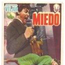 Cine: PTCC 035 MIEDO PROGRAMA SENCILLO VICTORY FILMS TERROR ESPAÑOL ANTONIO VILAR LEON KLIMOVSKY. Lote 147032006