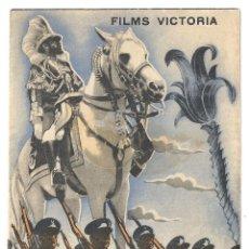Cine: PTEB 056 ABISINIA PROGRAMA DOBLE VICTORIA FILMS DOCUMENTAL UFA MARTIN RIKLI. Lote 147071858