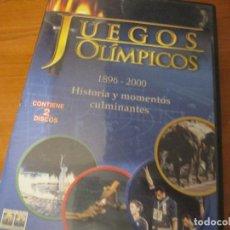 Cine: JUEGOS OLÍMPICOS, HISTORIA Y MOMENTOS CULMINANTES 1896-200-2 DVDS DESCATALOGADO. Lote 147092050