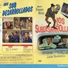 Cine: DOS DVD DE CINE LOS SUBDESARROLLADOS Y 40 GRADOS A LA SOMBRA DE TONY LEBLANC Y ANTONIO OZORES . Lote 147177938