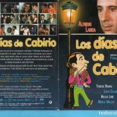 Cine: DOS DVD DE CINE QUÉ GOZADA DE DIVORCIO Y LOS DÍAS DE CABIRIO ANDRÉS PAJARES Y ALFREDO LANDA . Lote 147179218