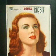 Cine: LUZ EN EL ALMA-ROBERT SIODMAK-DIANA DURBIN-GENE KELLY-DEAN HARENS-GALE SONDERGAARD-(1944). . Lote 147340106