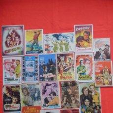 Cine: LOTE 100 PROGRAMAS ORIGINALES VARIADOS, AÑOS 40/50/60, LS119. Lote 147363574