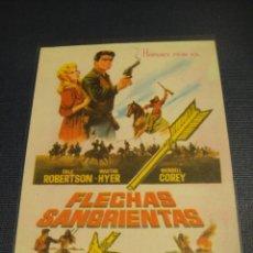 Cine: FLECHAS SANGRIENTAS - SIN PUBLICIDAD. Lote 147392938