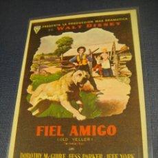 Cine: FIEL AMIGO - SIN PUBLICIDAD. Lote 147393050