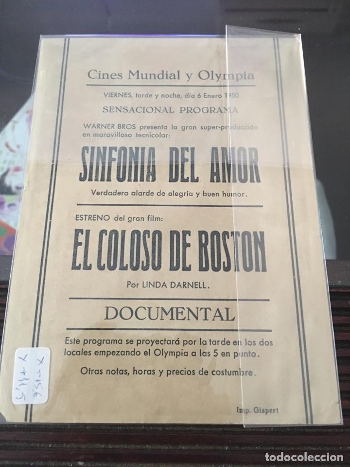 Cine: Programa al cine con publicidad la sinfonía del amor - Foto 2 - 147465452