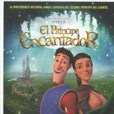 Cine: EL PRÍNCIPE ENCANTADOR. DIBUJOS ANIMADOS 21 X 29,5 CMS... Lote 147505358