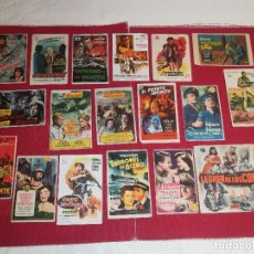 Cine: LOTE 19 PROGRAMAS DE MANO - BELICAS - AÑOS 50 - 60 . Lote 147537522