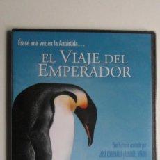 Cine: ÉRASE UNA VEZ EN LA ANTÁRTIDA... EL VIAJE DEL EMPERADOR [DVD PRECINTADO]. Lote 147566538