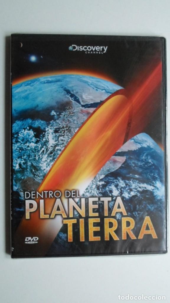 DENTRO DEL PLANETA TIERRA (DISCOVERY CHANNEL) [DVD PRECINTADO] (Cine - Folletos de Mano - Documentales)