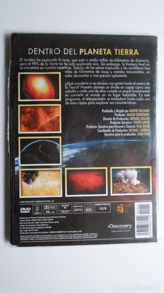 Cine: DENTRO DEL PLANETA TIERRA (DISCOVERY CHANNEL) [DVD PRECINTADO] - Foto 2 - 147566658