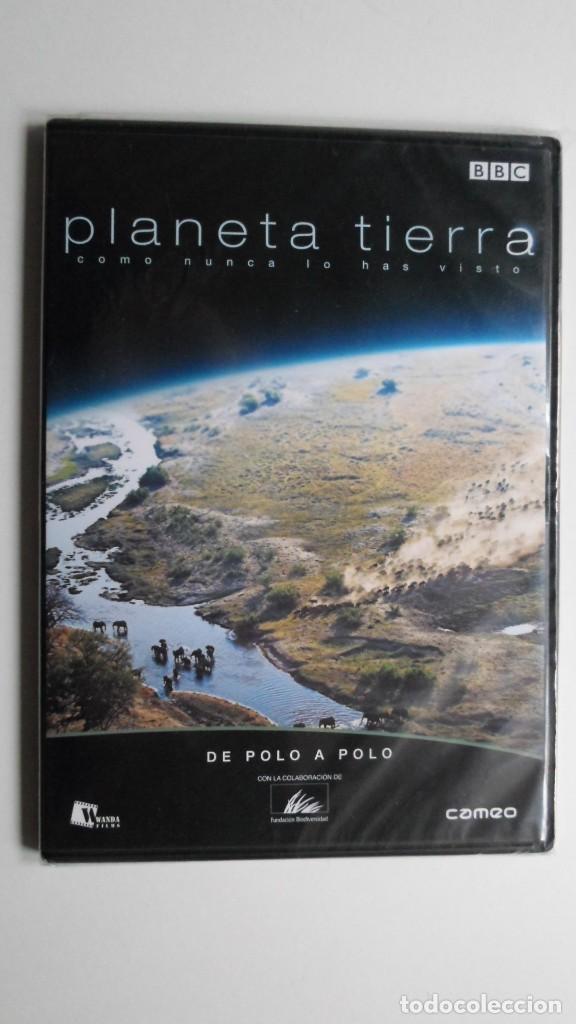 PLANETA TIERRA COMO NUNCA LO HABÍAS VISTO (DE POLO A POLO) [DVD BBC PRECINTADO] (Cine - Folletos de Mano - Documentales)