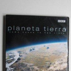 PLANETA TIERRA COMO NUNCA LO HABÍAS VISTO (DE POLO A POLO) [DVD BBC PRECINTADO]