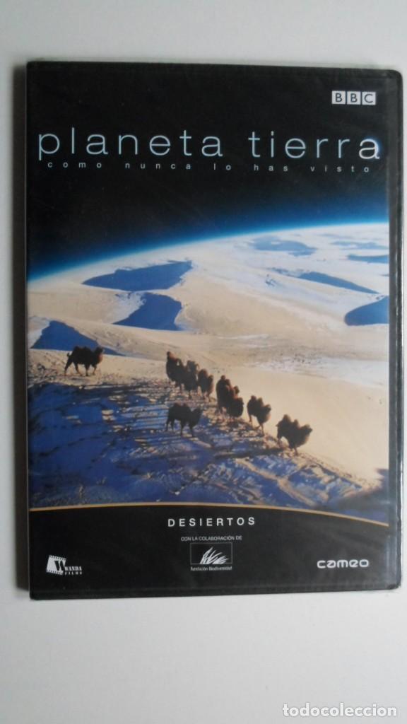 PLANETA TIERRA COMO NUNCA LO HABÍAS VISTO (DESIERTOS) [DVD BBC PRECINTADO] (Cine - Folletos de Mano - Documentales)