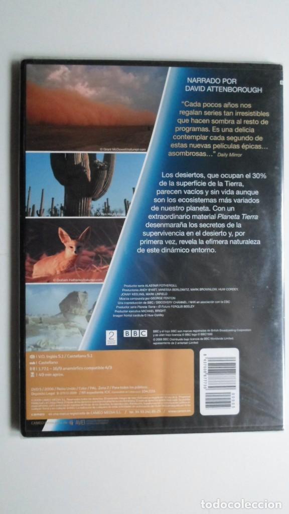 Cine: PLANETA TIERRA COMO NUNCA LO HABÍAS VISTO (DESIERTOS) [DVD BBC PRECINTADO] - Foto 2 - 147567126