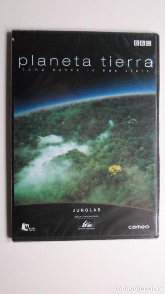 PLANETA TIERRA COMO NUNCA LO HABÍAS VISTO (JUNGLAS) [DVD BBC PRECINTADO] (Cine - Folletos de Mano - Documentales)