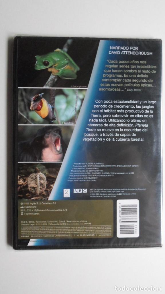Cine: PLANETA TIERRA COMO NUNCA LO HABÍAS VISTO (JUNGLAS) [DVD BBC PRECINTADO] - Foto 2 - 147567482