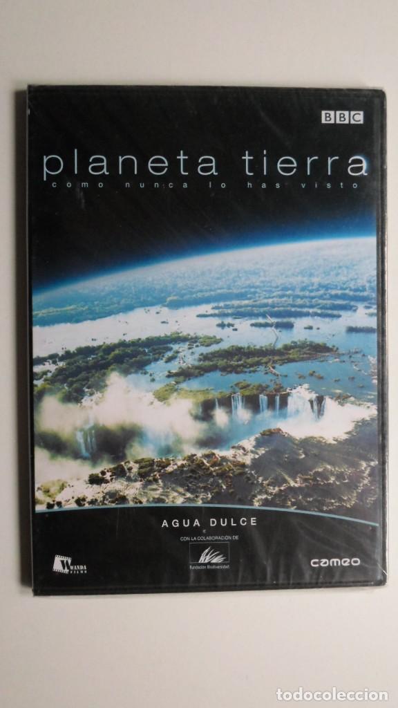 PLANETA TIERRA COMO NUNCA LO HABÍAS VISTO (AGUA DULCE) [DVD BBC PRECINTADO] (Cine - Folletos de Mano - Documentales)
