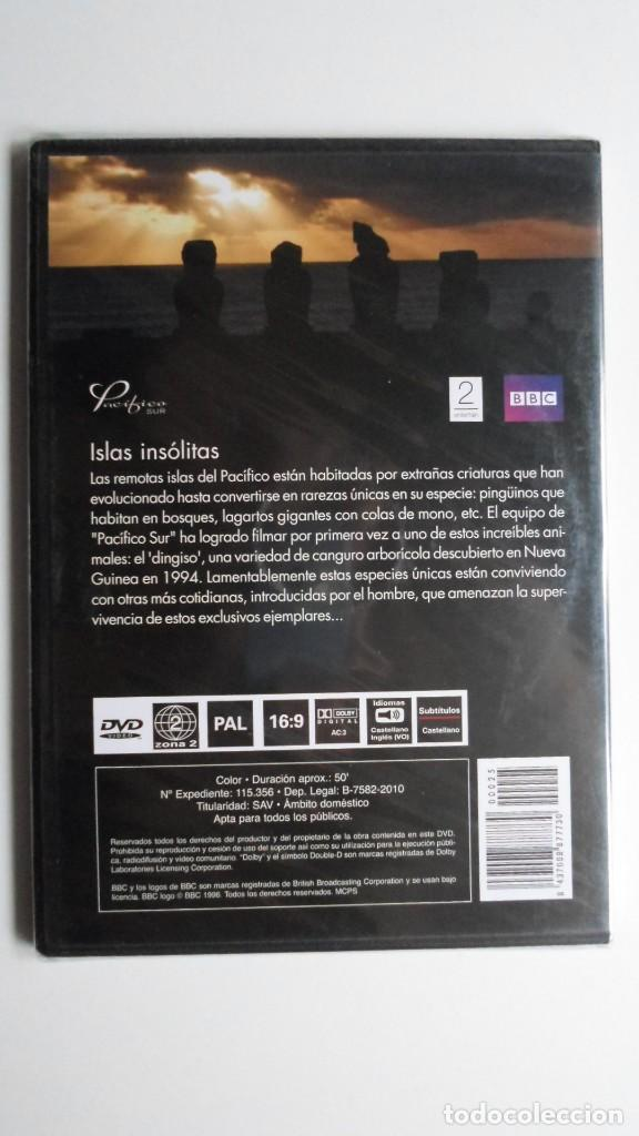 Cine: PACÍFICO SUR (ISLAS INSÓLITAS) [DVD BBC PRECINTADO] - Foto 2 - 147568106