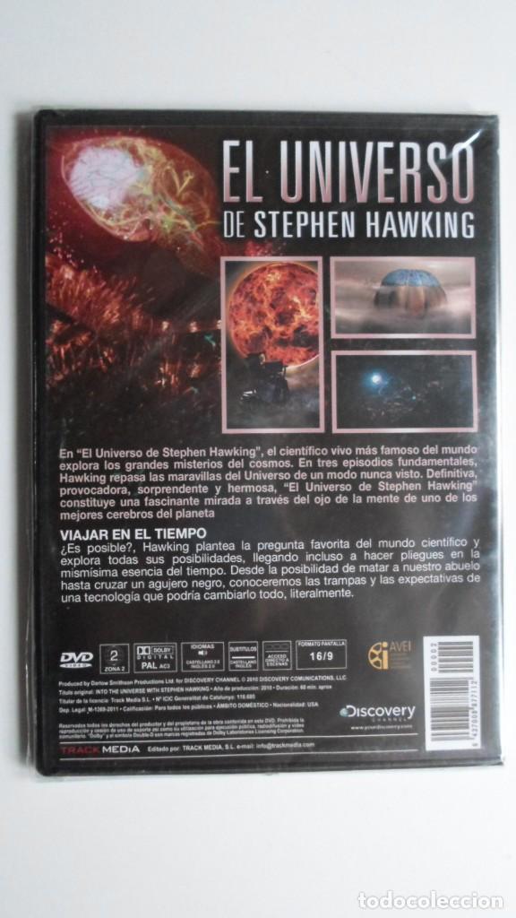 Cine: EL UNIVERSO DE STEPHEN HAWKING (VIAJAR EN EL TIEMPO) [DVD BBC PRECINTADO] - Foto 2 - 147568438