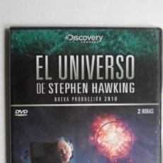 Cine: EL UNIVERSO DE STEPHEN HAWKING (TODA LA HISTORIA) [DVD BBC PRECINTADO]. Lote 147568546