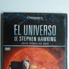 Cine: EL UNIVERSO DE STEPHEN HAWKING (ALIENÍGENAS) [DVD BBC PRECINTADO]. Lote 147568618