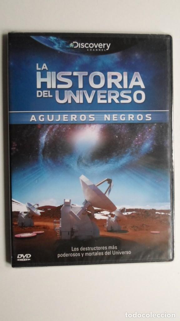 LA HISTORIA DEL UNIVERSO (AGUJEROS NEGROS) [DVD DISCOVERY CHANNEL PRECINTADO] (Cine - Folletos de Mano - Documentales)