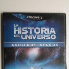 Cine: LA HISTORIA DEL UNIVERSO (AGUJEROS NEGROS) [DVD DISCOVERY CHANNEL PRECINTADO]. Lote 147568794