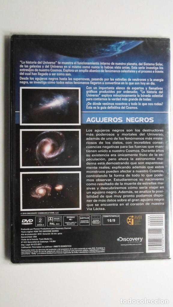 Cine: LA HISTORIA DEL UNIVERSO (AGUJEROS NEGROS) [DVD DISCOVERY CHANNEL PRECINTADO] - Foto 2 - 147568794