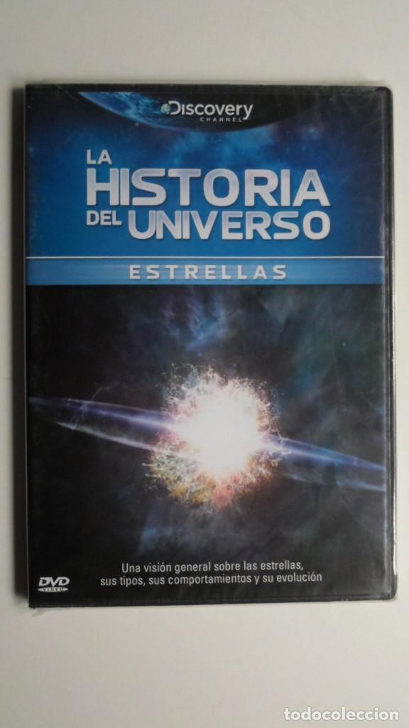 LA HISTORIA DEL UNIVERSO (ESTRELLAS) [DVD DISCOVERY CHANNEL PRECINTADO] (Cine - Folletos de Mano - Documentales)